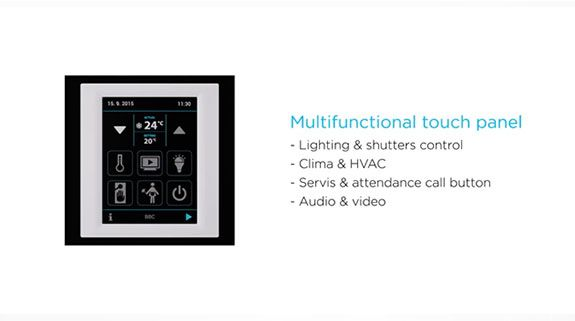 multi functional touch panel
