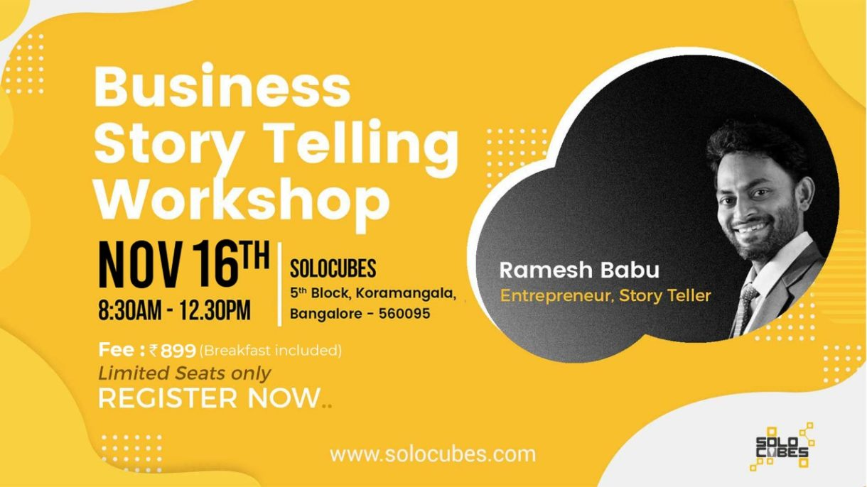 business story telling workshop