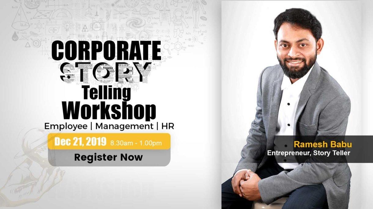Corporate Story Telling Workshop