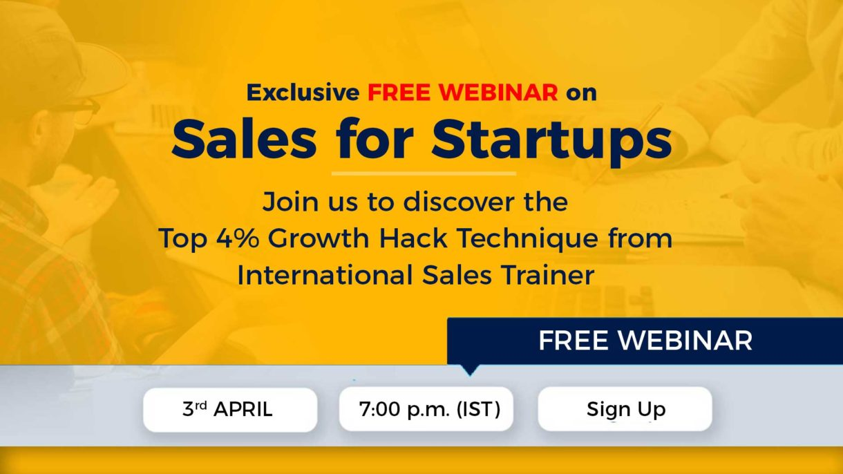 sales for startup